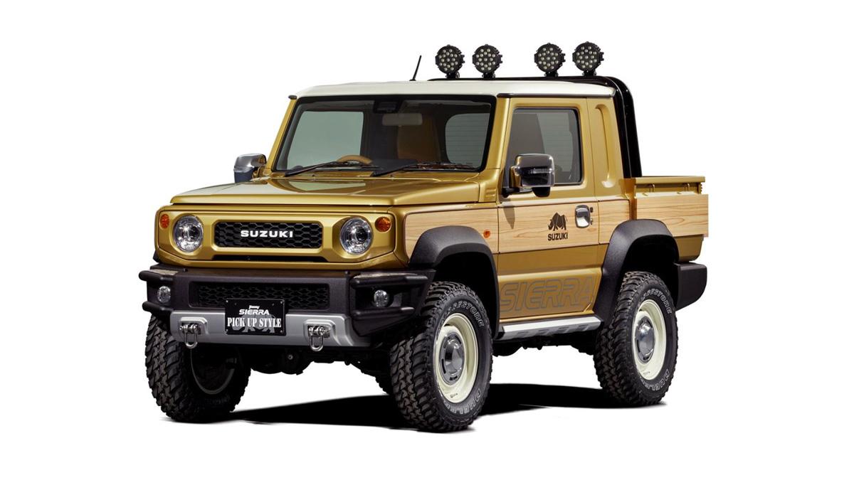 Suzuki Jimny превратили в пикап и экстремальный внедорожник