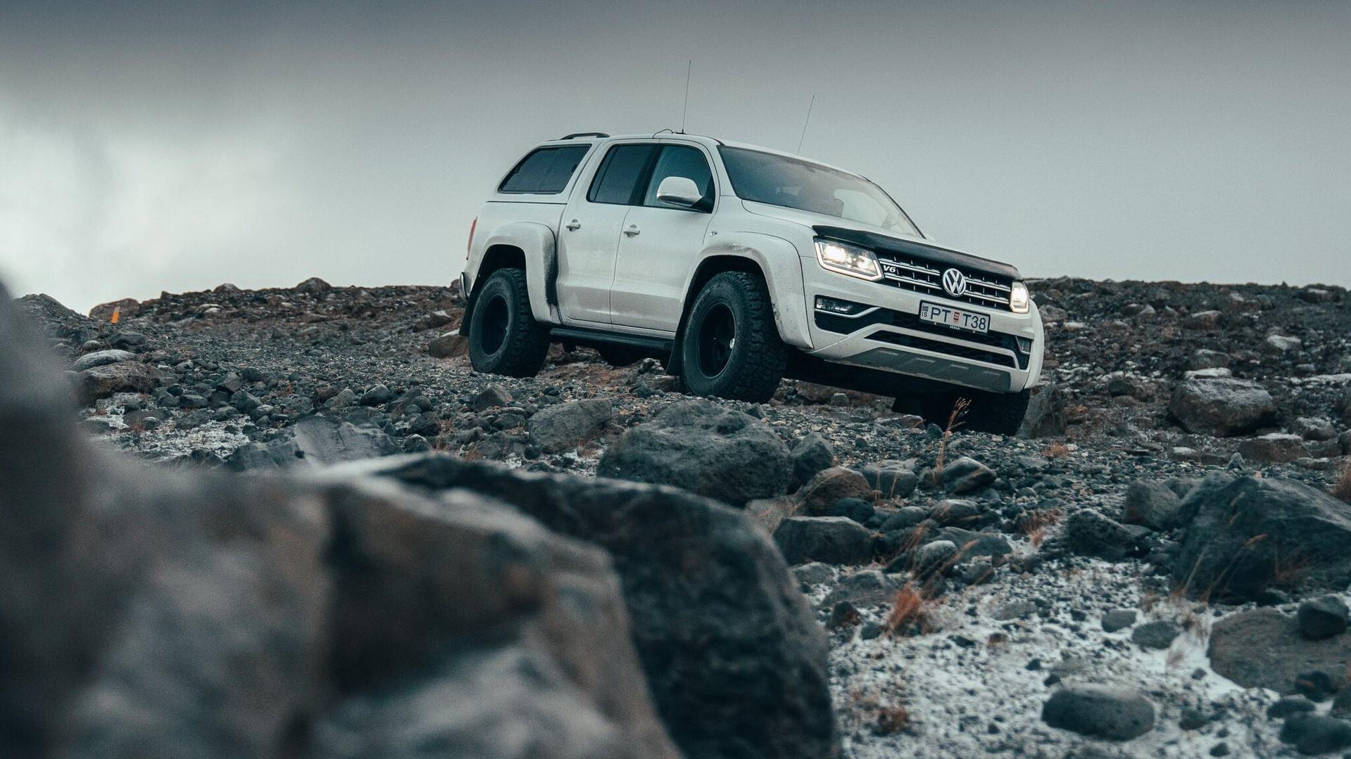 VW Amarok от Arctic Trucks способен доехать куда угодно. Исварить там кофе