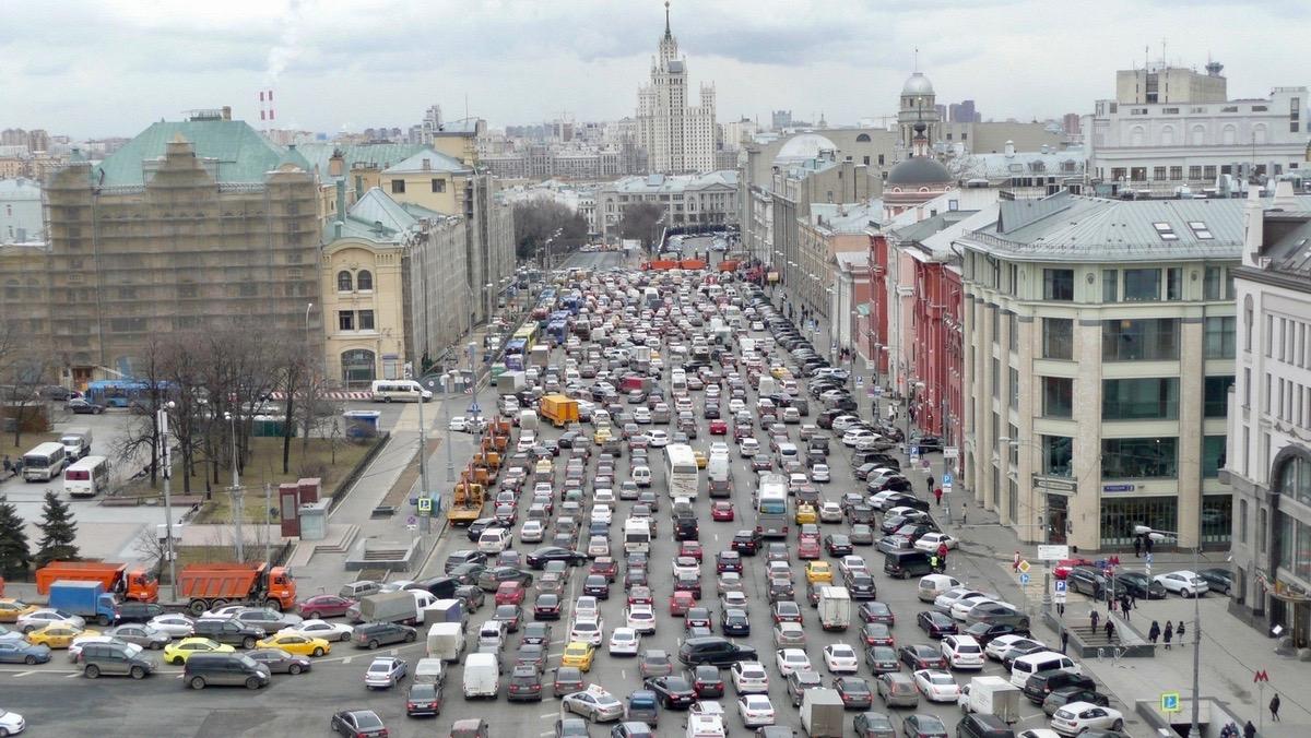 Российский автопарк достиг рекордных размеров