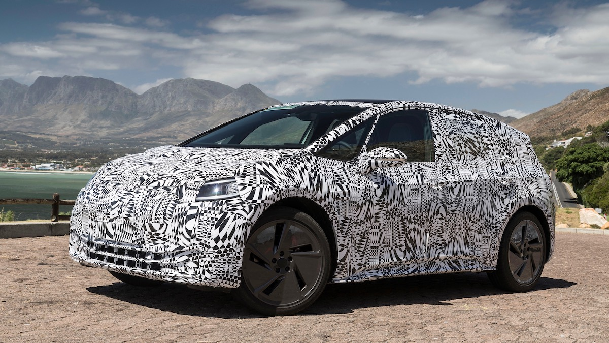 Volkswagen начнёт продавать электромобиль ID. за четыре месяца до премьеры