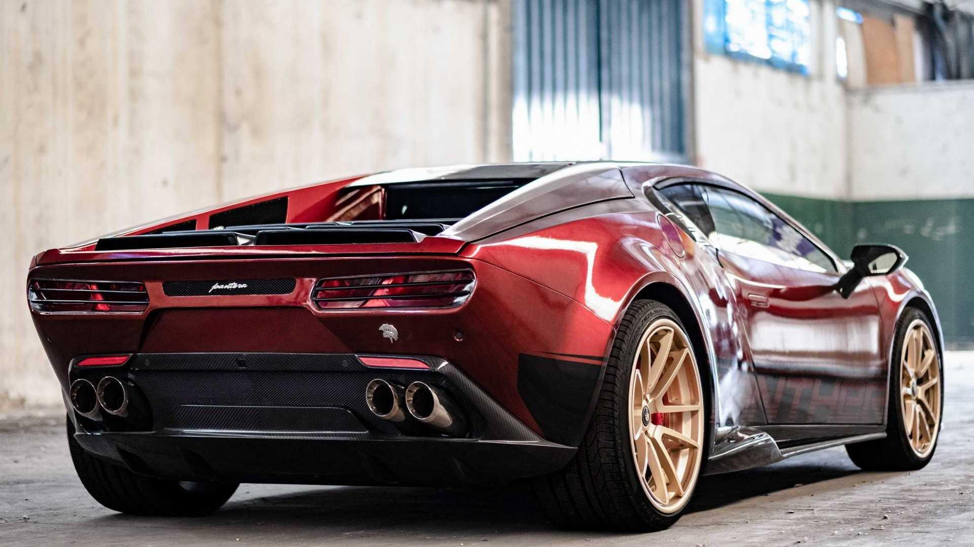 Итальянцы стилизовали LamborghiniHuracan под De Tomaso Pantera