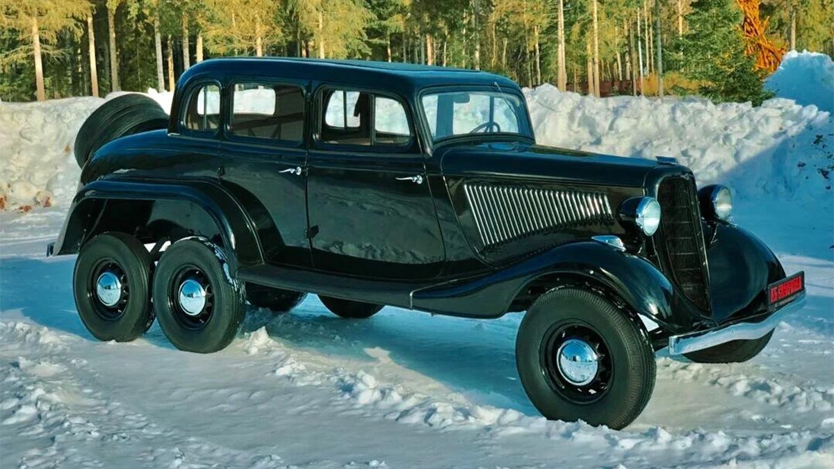 Ничего себе! Очень редкие машины, которые можно купить в России