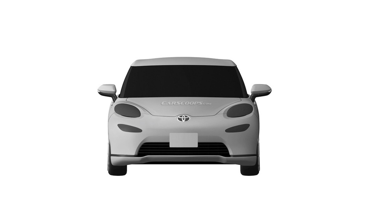 Toyota запатентовала очень странное купе