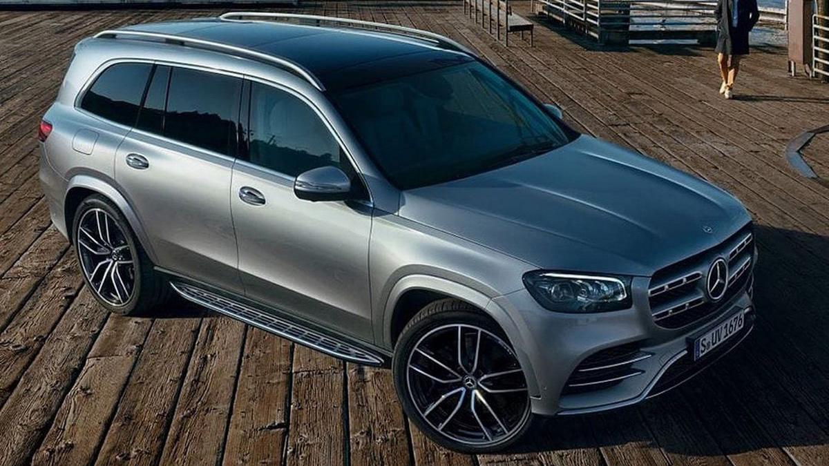 Официальные фотографии нового Mercedes-Benz GLS, BMW 1-й серии без камуфляжа идругие новости за ночь
