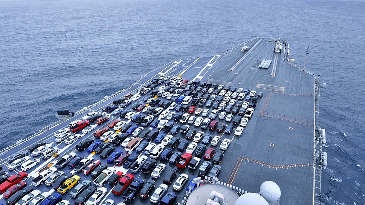 Экспорт автомобилей из России достиг рекордного с 2014 года уровня