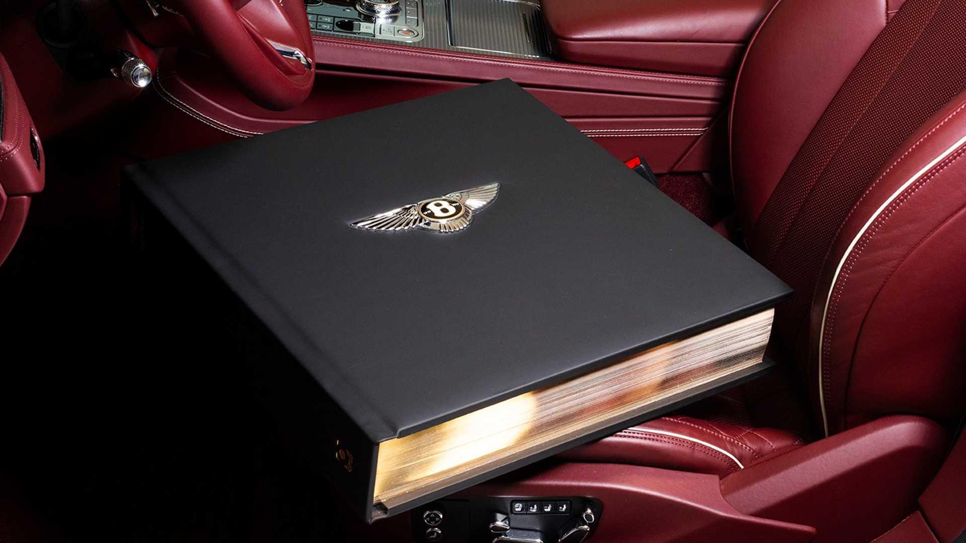 30-килограммовая книга обистории Bentley обойдётся вцену нового Bentley