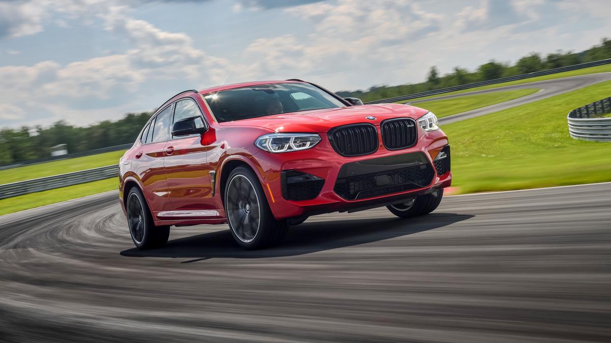 Скажи «сы-ы-ыр!» Первый тест заряженных кроссоверов BMW X3/X4M Competition