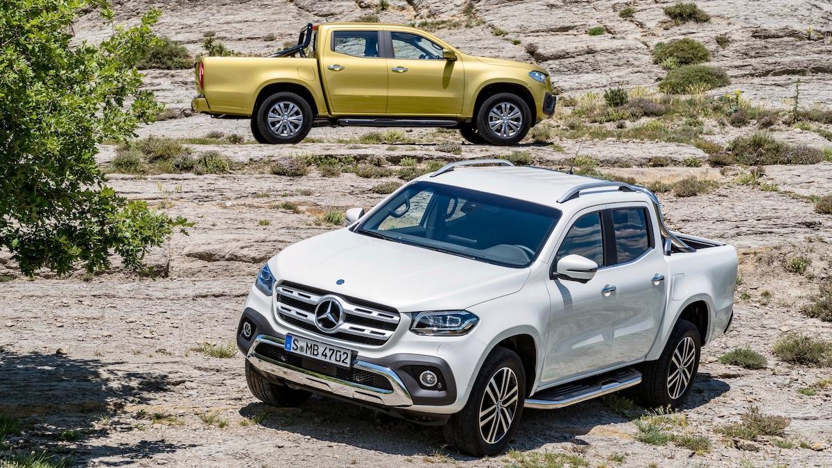 Mercedes-Benz задумался об отказе от пикапа X-класса