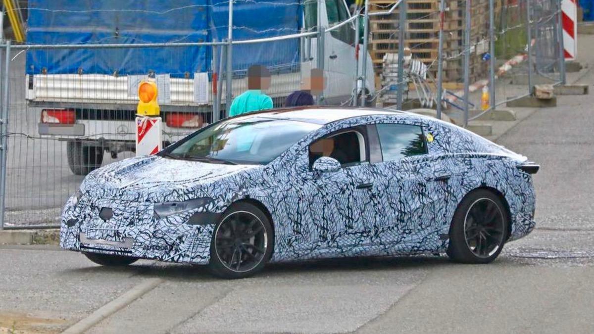Конкурент Tesla Model S от Mercedes-Benz вышел на тесты