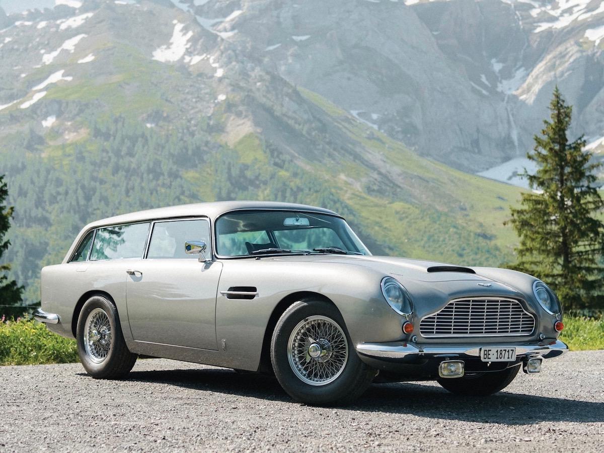 За редчайший универсал Aston Martin попросят шестизначную сумму в долларах