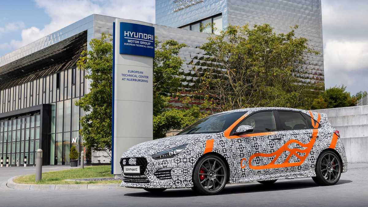 Хот-хэтч Hyundai i30 N получит «карбоновую» спецверсию