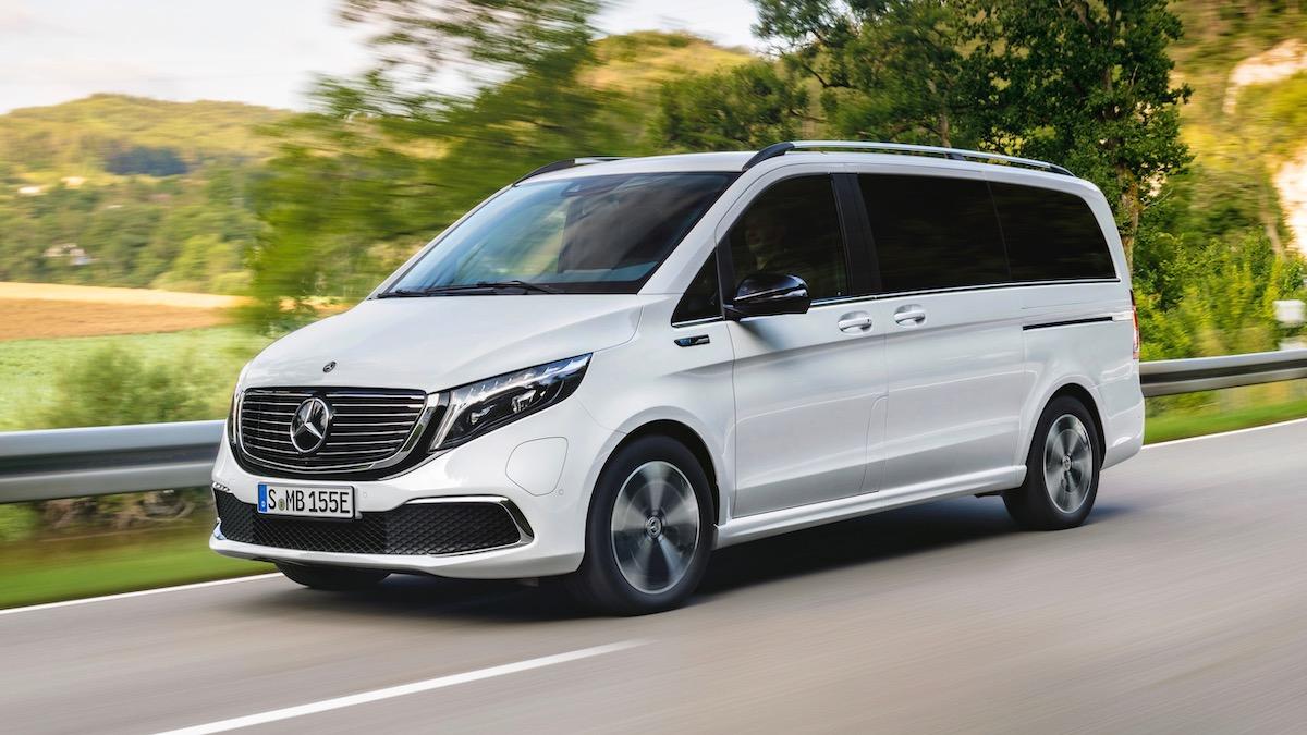 Mercedes-Benz представил первый премиальный минивэн на электротяге