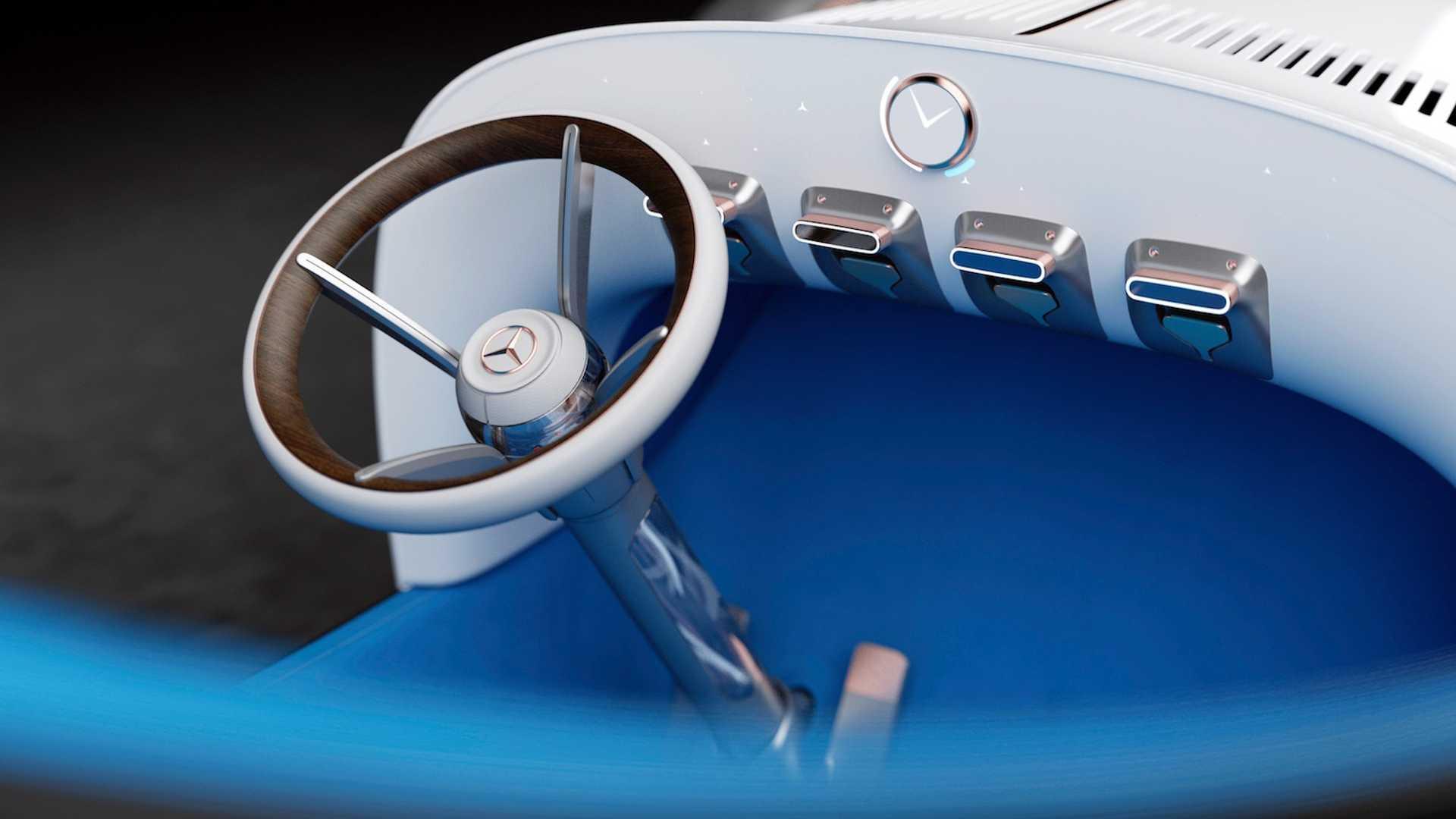 Mercedes-Benz переосмыслил 118-летний автомобиль