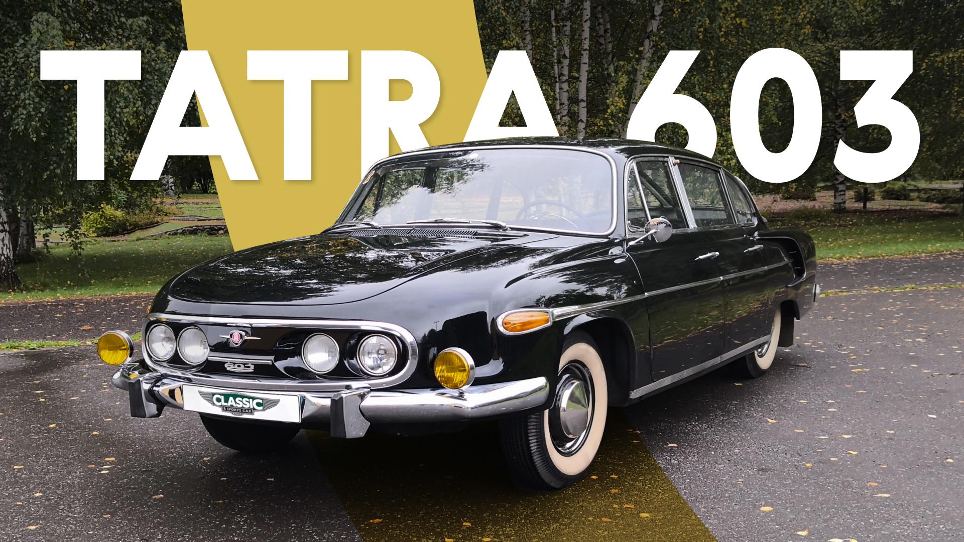 Tatra 603: если бы Панамеру придумали в Чехословакии