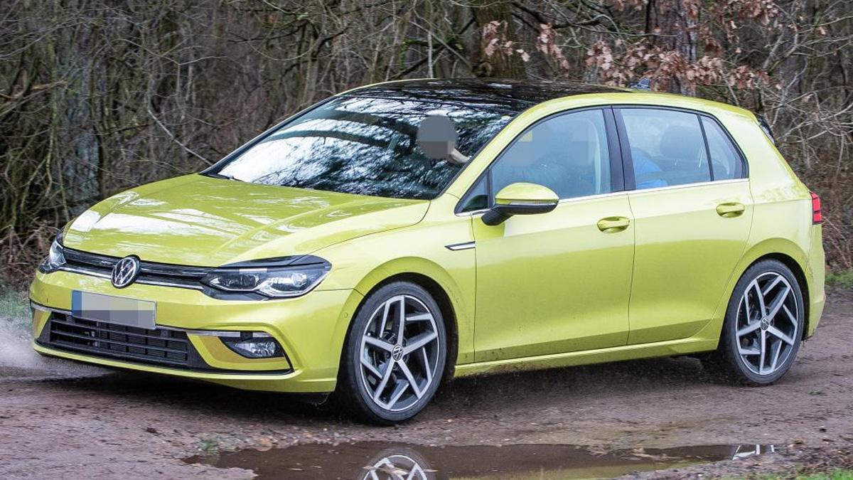 Прототип нового Volkswagen Golf