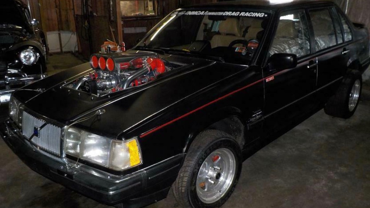 3042-сильный Volvo 960 выставили на аукцион, но оказался никому не нужен