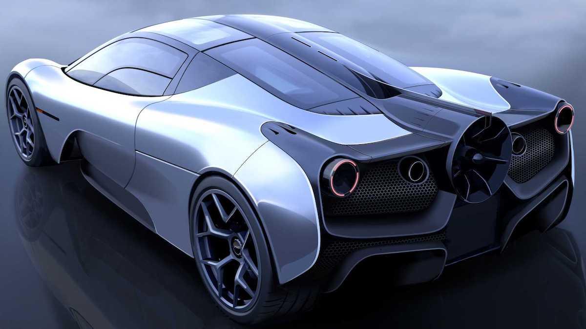 Суперкар от создателя McLaren F1 удивил вентилятором сзади