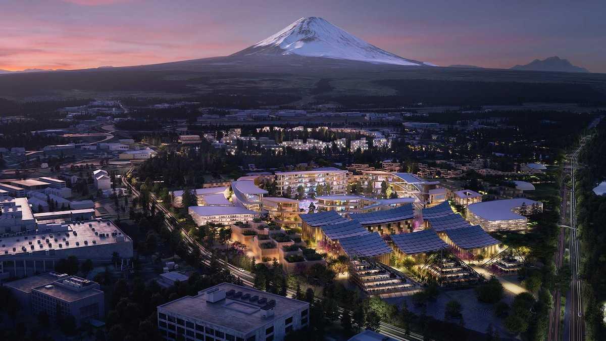 Toyota построит город будущего у подножья Фудзи