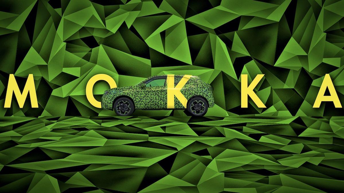 Opel Mokka станет электромобилем