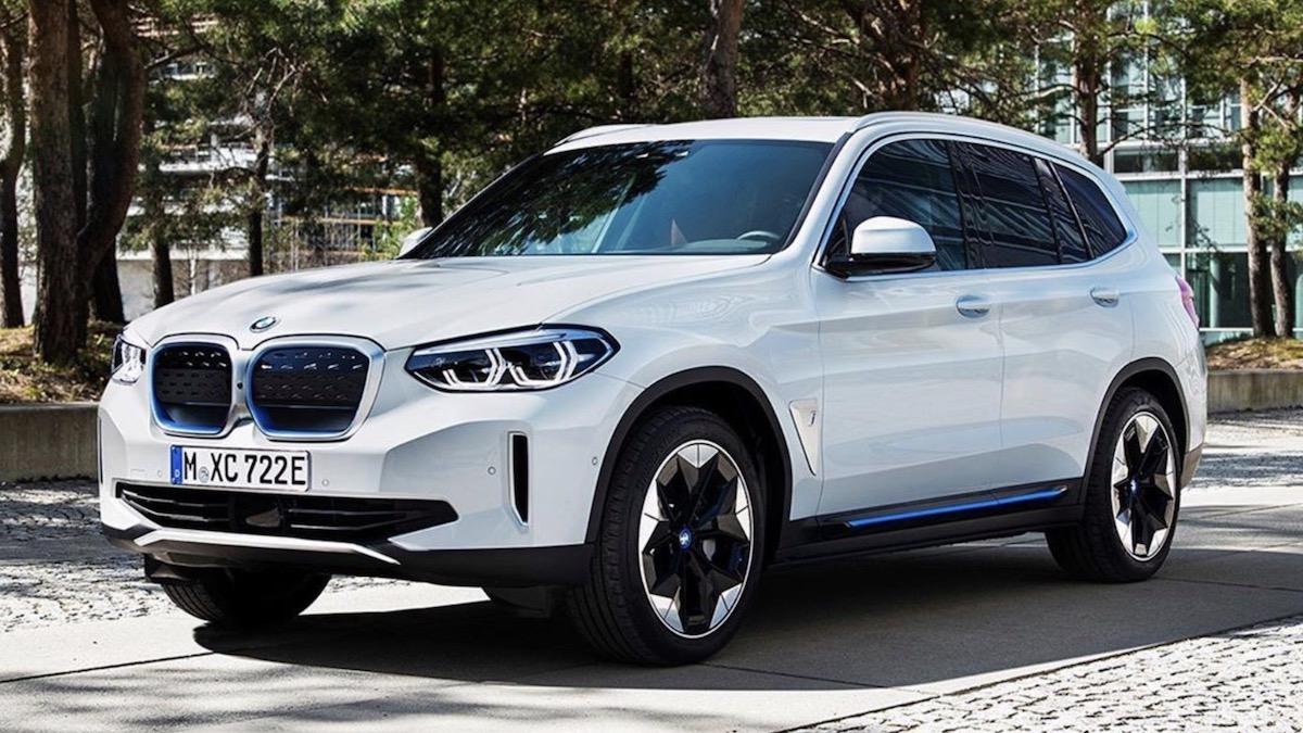 Электрический BMW X3: первые изображения