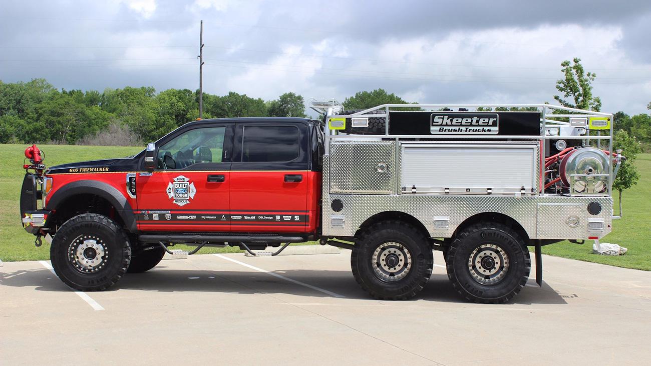 Огнеупорные: 10 невероятных пожарных автомобилей