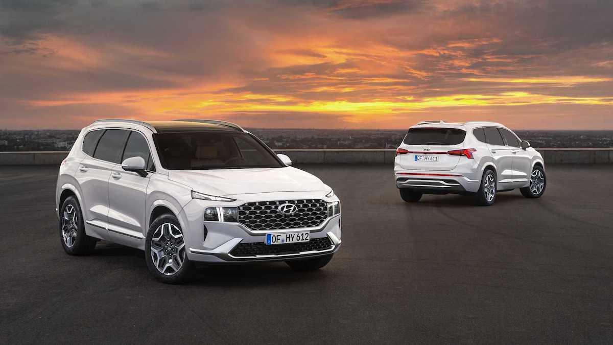 Hyundai Santa Fe крупно обновился: новая платформа, кнопочный «автомат» и гибриды