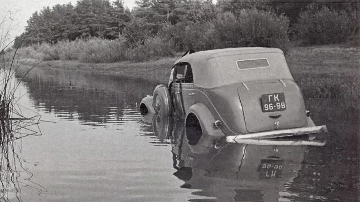 Опытный образец ГАЗ-61