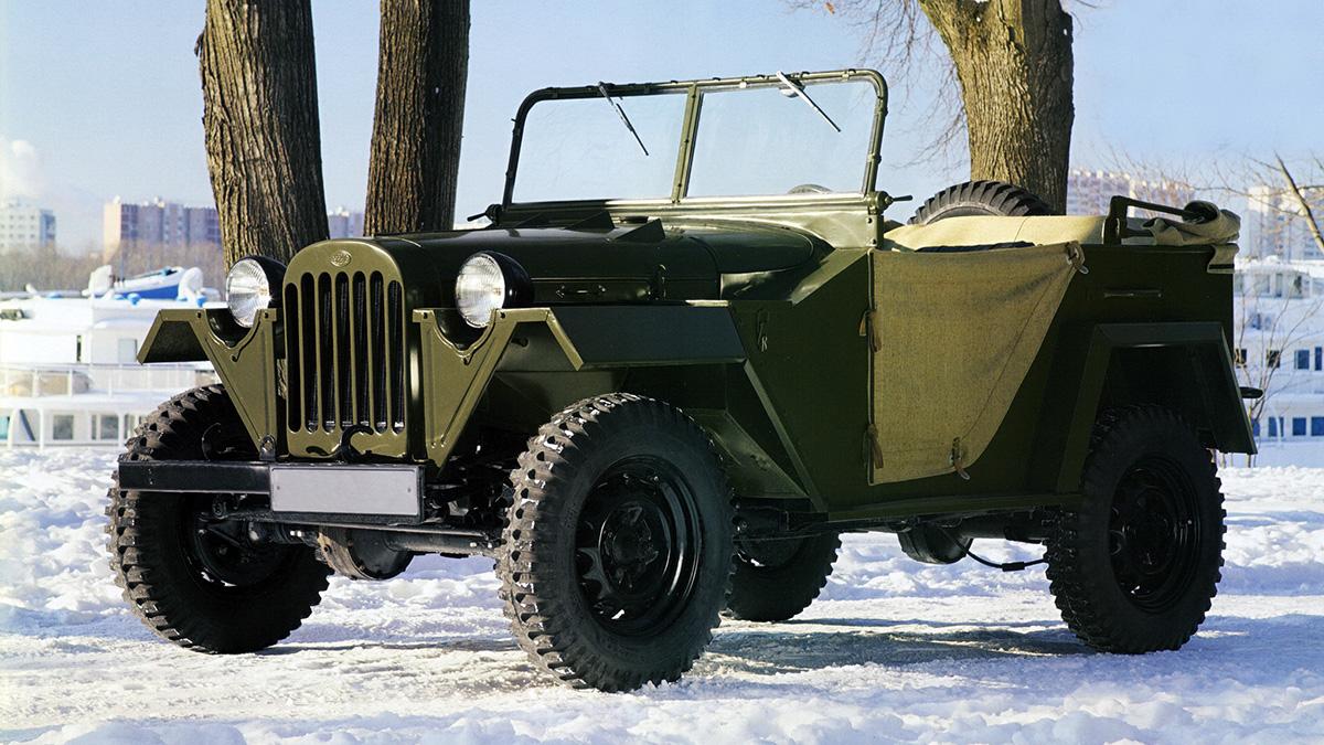 ГАЗ-67, поздний вариант