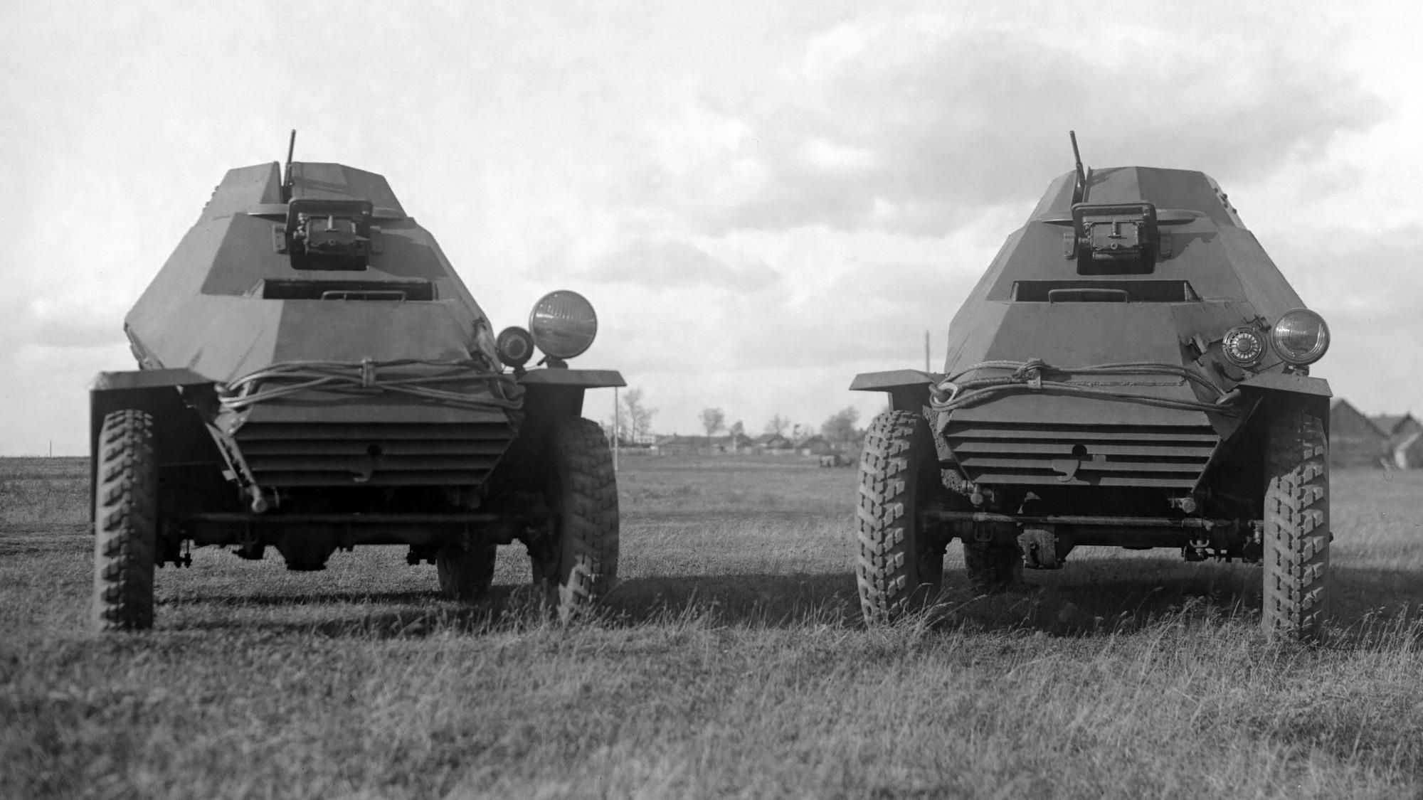 БА-64Б и БА-64