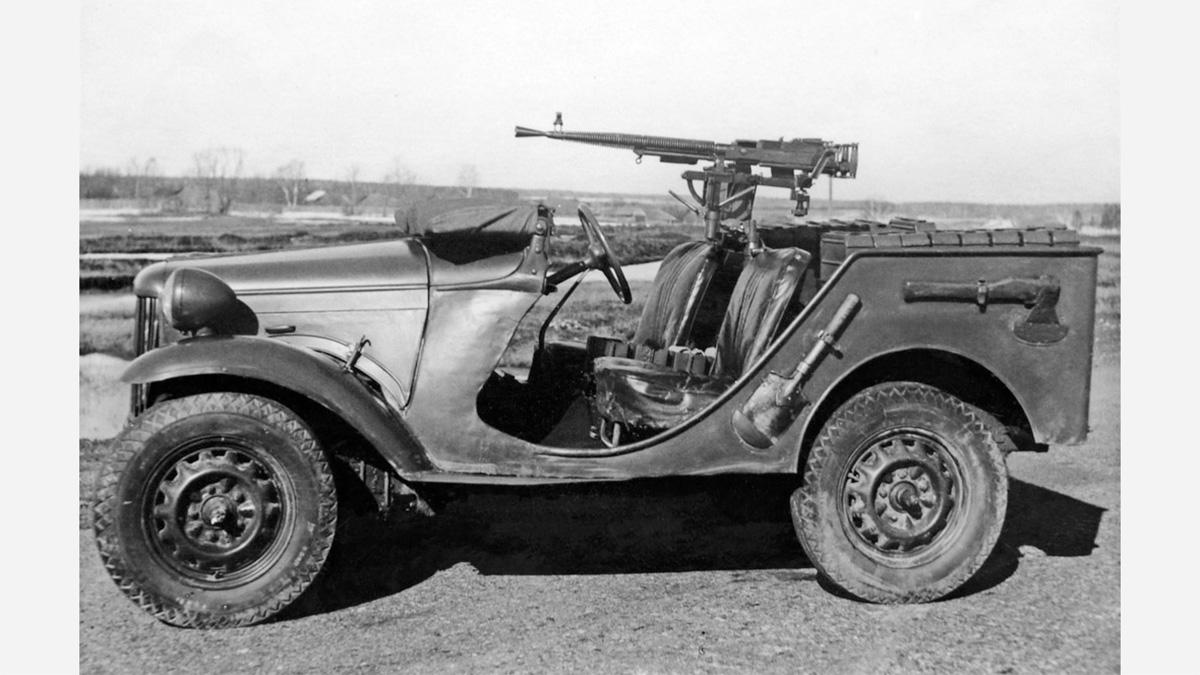Опытный образец ГАЗ-64