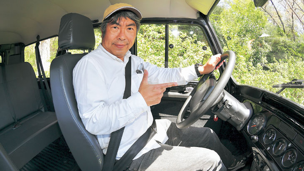 Японец поделился впечатлениями отпоездки наУАЗ Хантер
