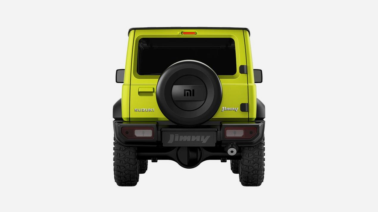 Фирма Xiaomi выпустила автомобиль.Это Suzuki Jimny