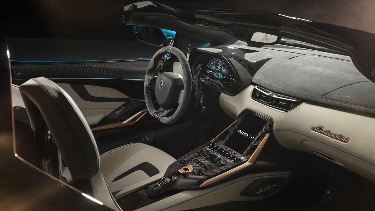 Lamborghini Sian салон