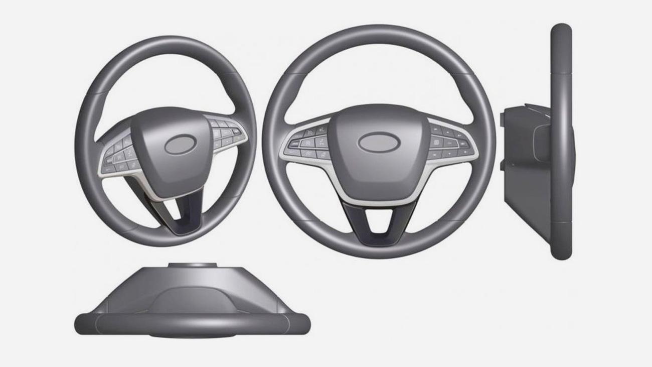 Новые рули для автомобилей Lada рассекречены на патентах