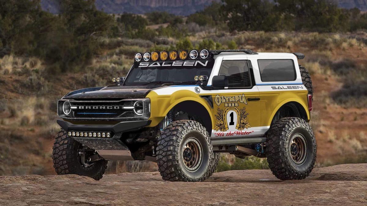Тюнеры Saleen придумали суперверсию нового Ford Bronco в стиле Big Oly
