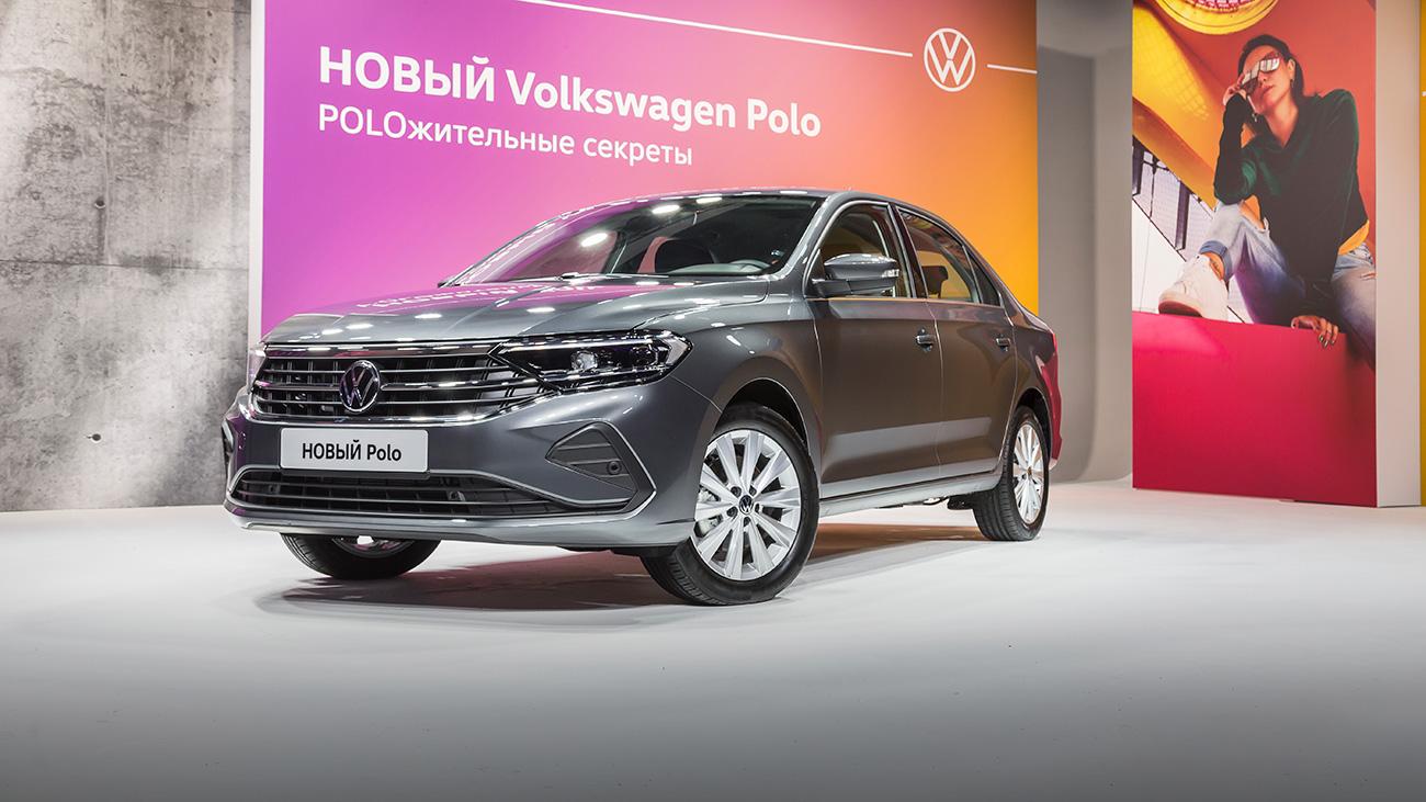 Опаздывающий: 6 фактов про новый Volkswagen Polo для России