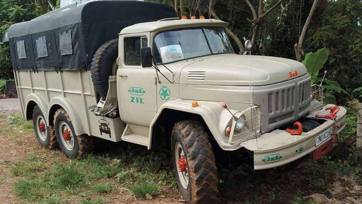 Индиец купил советский ЗиЛ и преобразил его до неузнаваемости