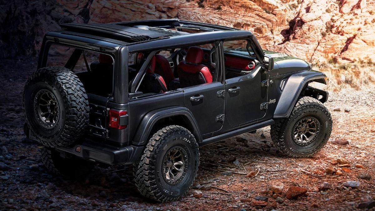 Прототип Jeep Wrangler Rubicon 392
