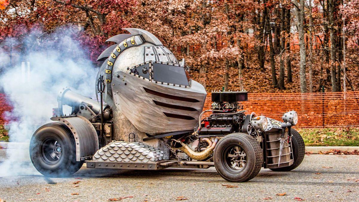 Шлем с мотором: посмотрите на самый дикий хот-род