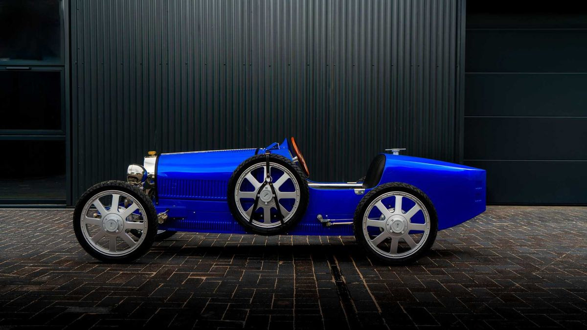 Компания Bugatti выпустила электрокар за 2,5 миллиона рублей