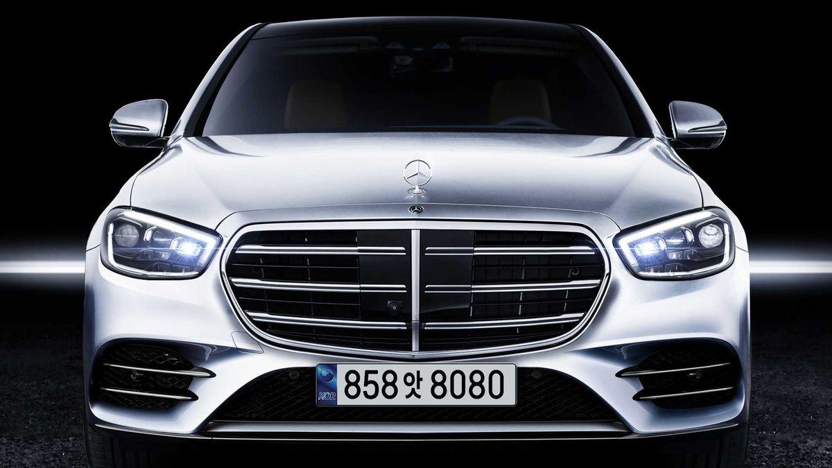 Новый Mercedes-Benz S-класса получит необычные подушки безопасности