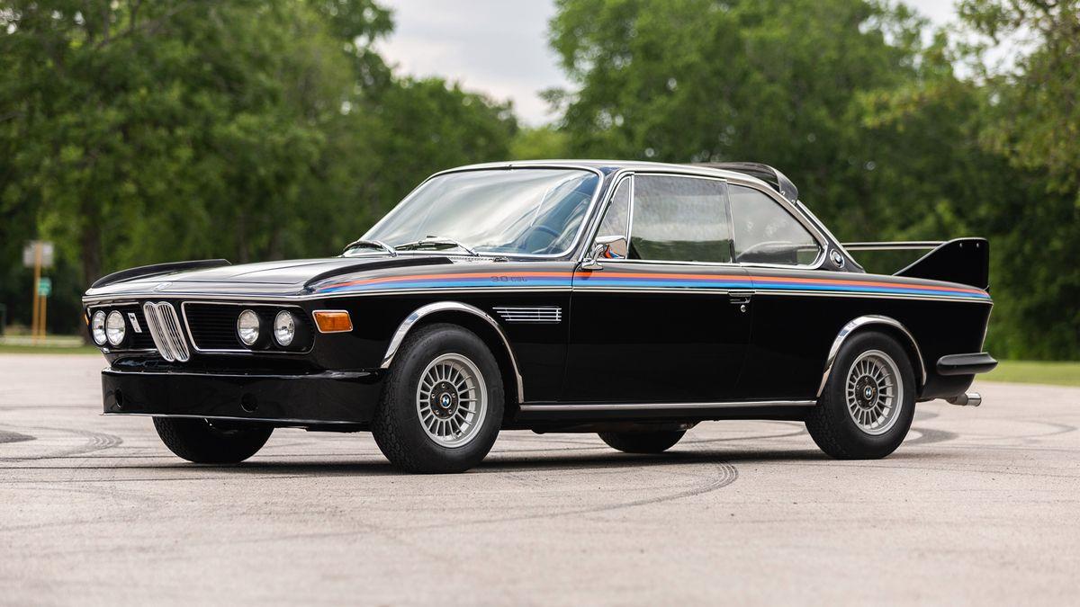 Посмотрите на редчайший BMW 3.0 CSL, который продали на аукционе