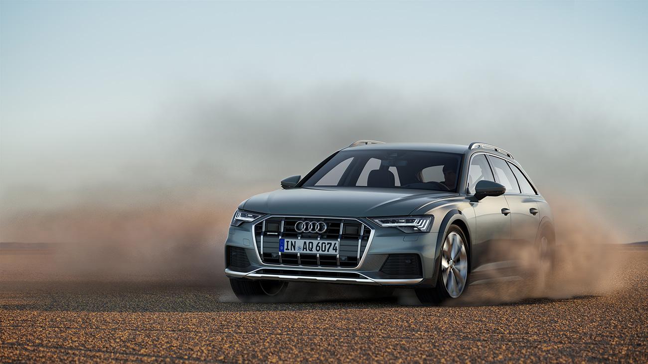 Названа стартовая цена кросс-универсала Audi A6 Allroad для России
