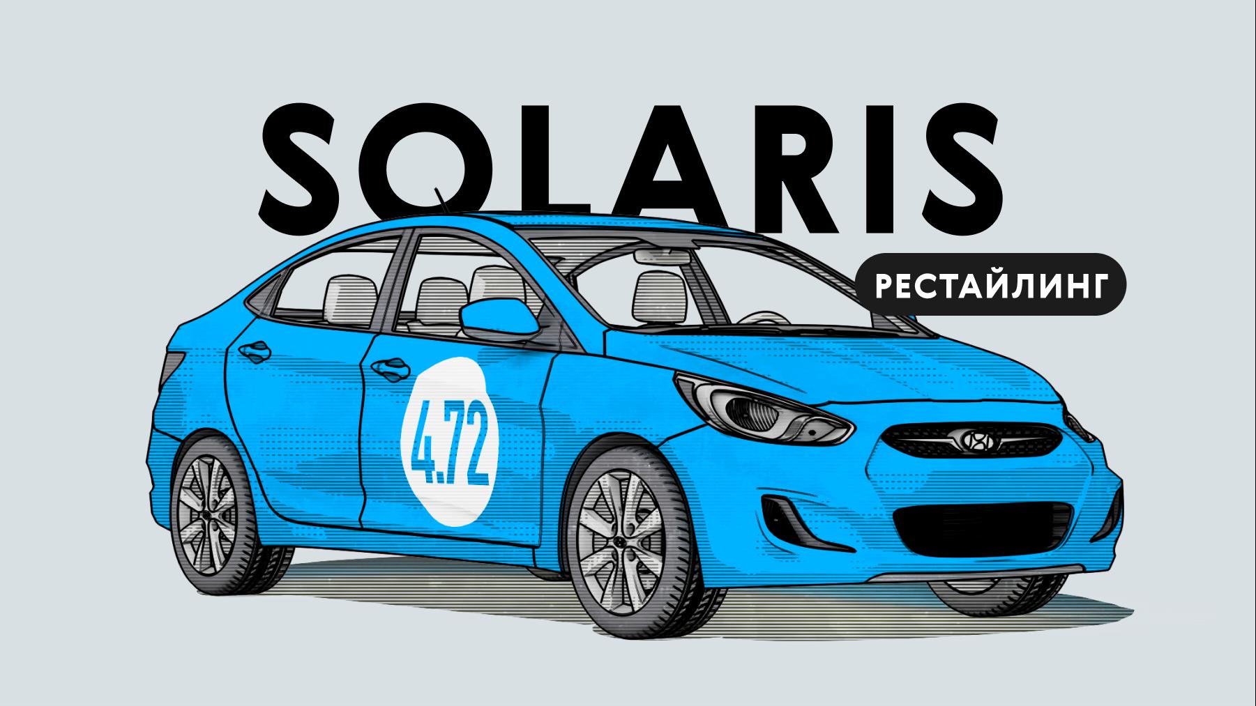 Надёжен лирестайлинговый Hyundai Solaris Iпоколения: всепроблемы корейского автомобиля спробегом