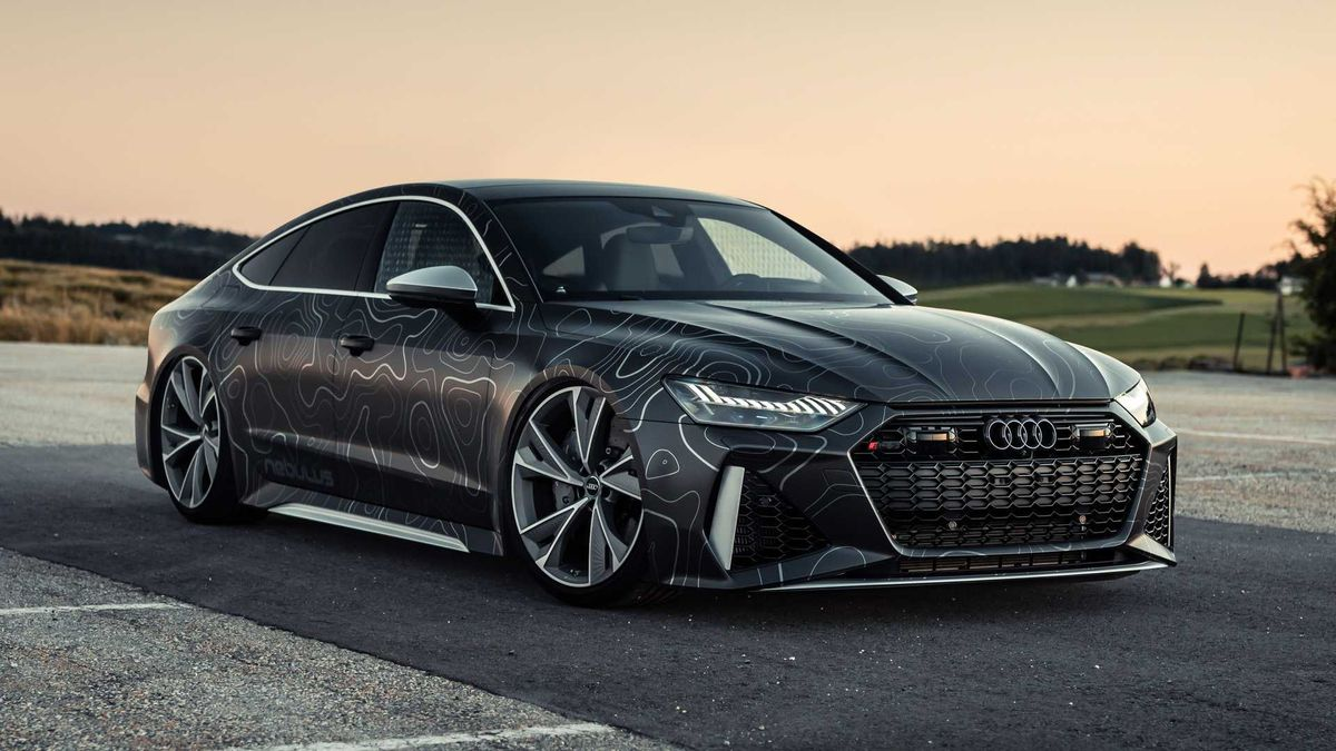 Audi RS7 стал очень низким и почти 1000-сильным
