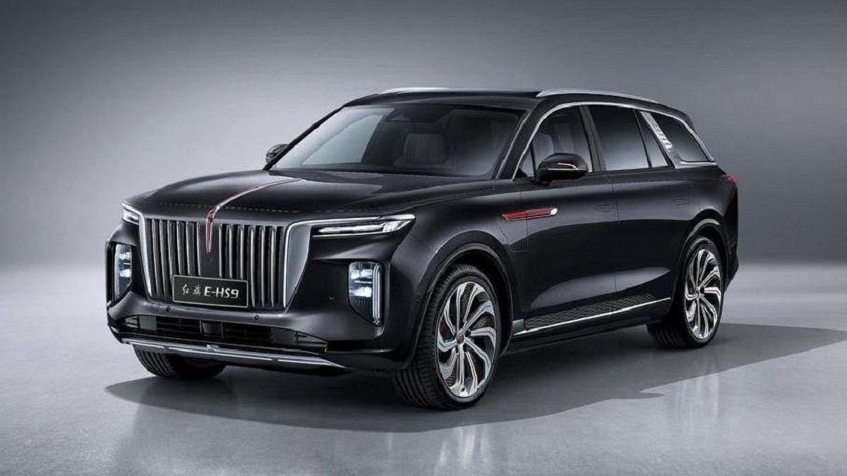 «Китайский Rolls-Royce» Hongqi E-HS9 представлен официально