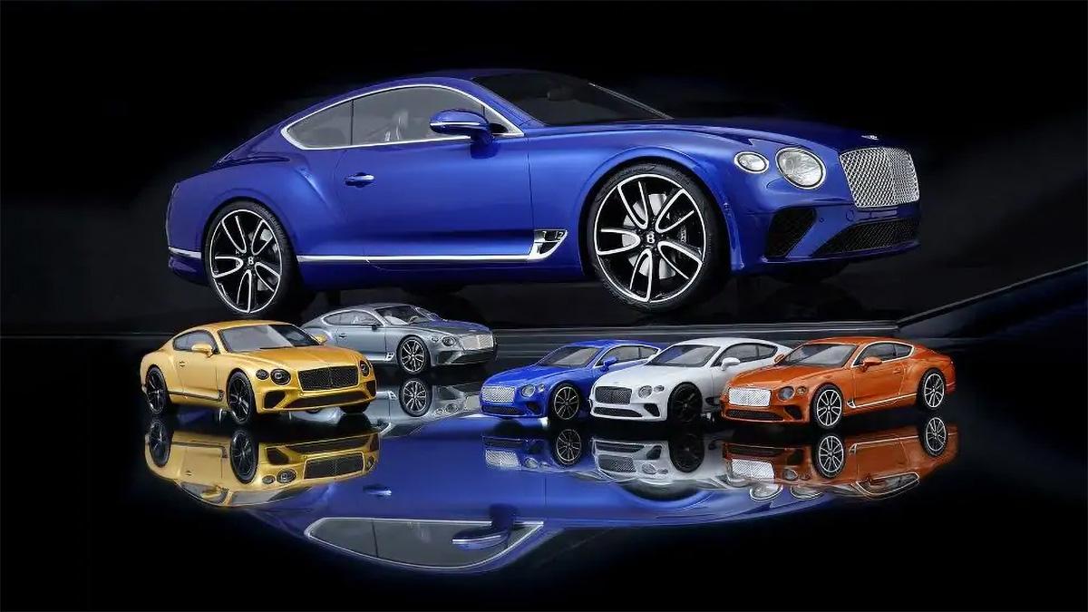 В Bentley сделали масштабную модель по цене новой Весты