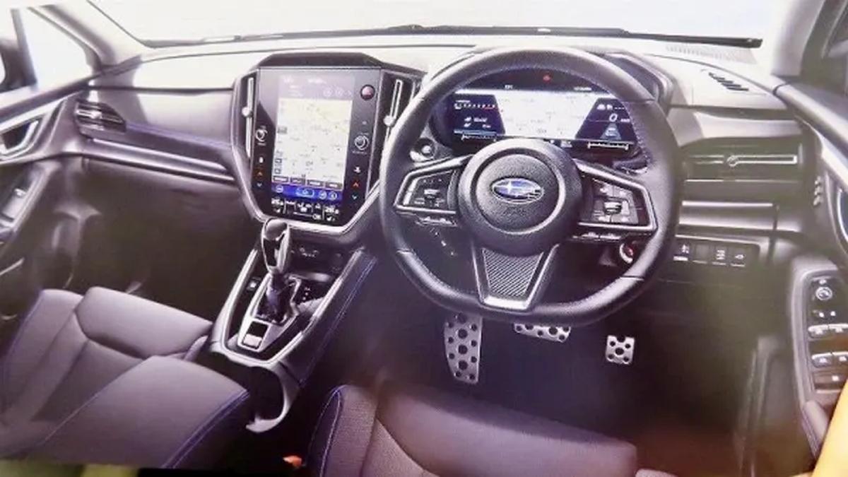 В Сети рассекретили салон новой Subaru WRX с гигантским экраном