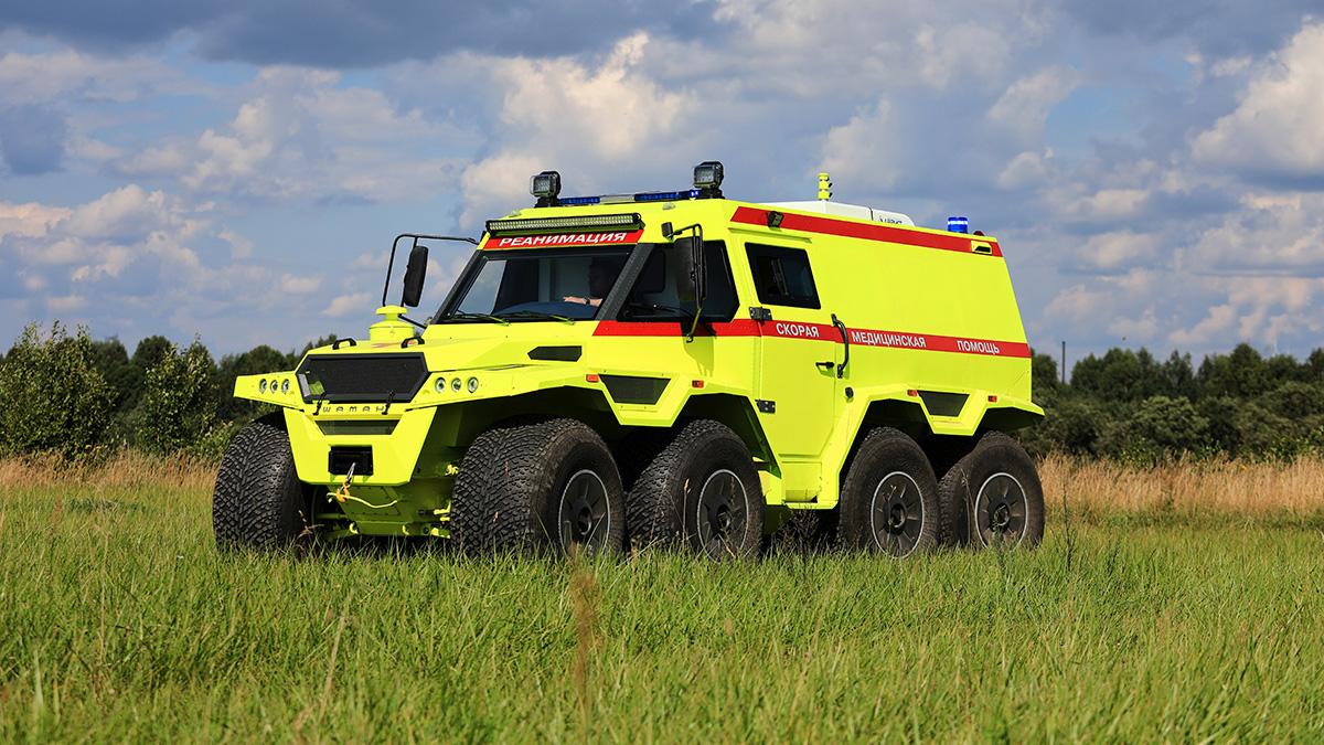 В России создали самую экстремальную машину скорой помощи