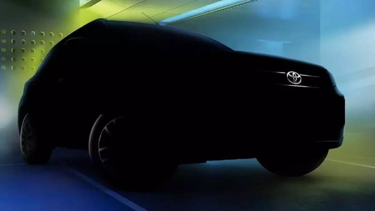 Toyota показала тизер нового доступного кроссовера